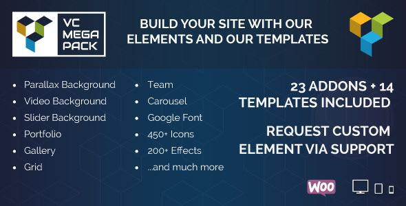 Download CodeCanyon Visual Composer Mega Pack Addons and Template ...