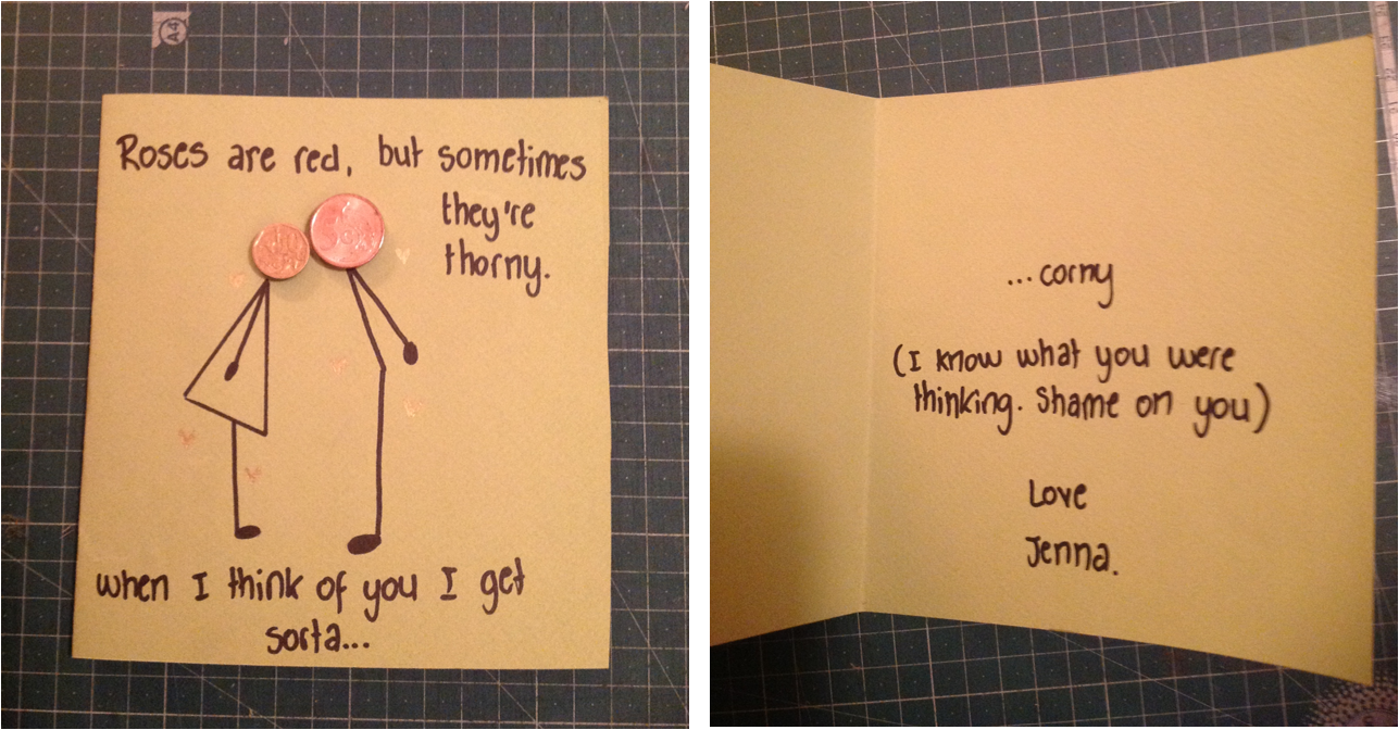 Boyfriend's birthday card. I laughed for like 10 minutes