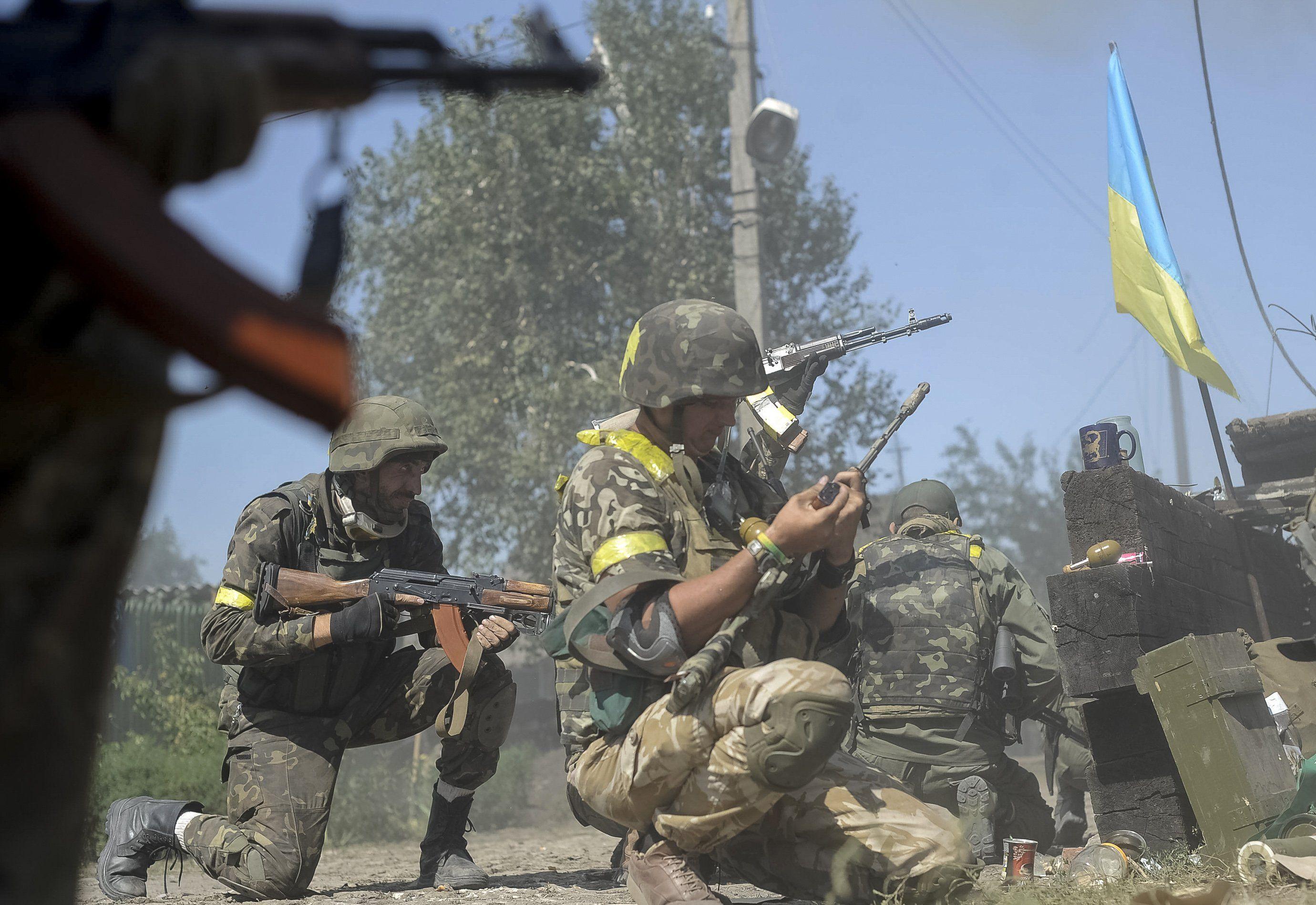АТО Боевики опять бьют из тяжелого вооружения - ФОКУС
