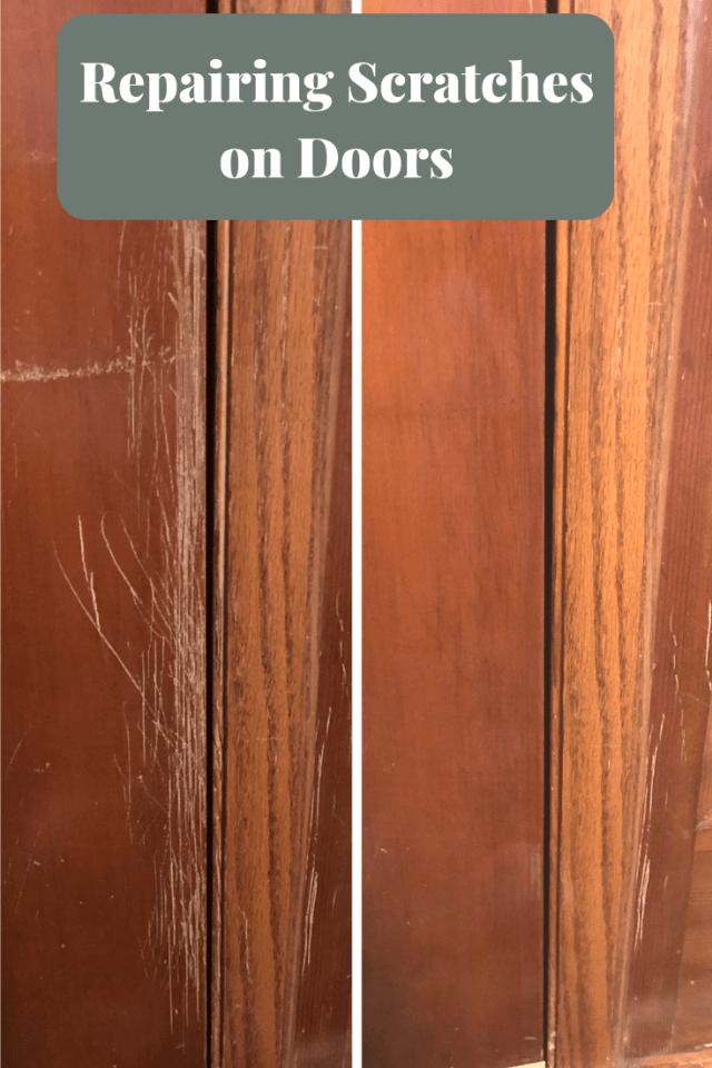 Repairing Scratches On Wood Doors Wood Doors Wood Exterior Door Stained Doors