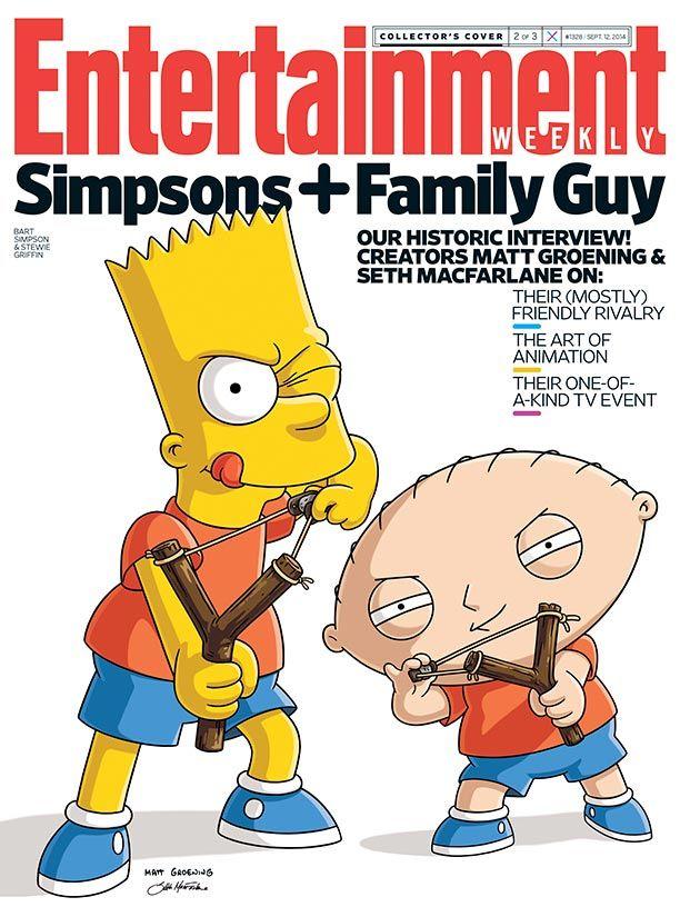 Family Guy Simpsons Full Episode : family, simpsons, episode, Week's, Cover:, Inside, 'Simpsons'-'Family, Crossover, Simpson, Simpsons, Family, Stewie