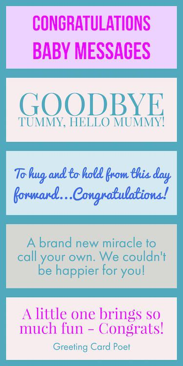 Congratulations baby messages quotes wishes and sayings baby congratulations baby messages quotes wishes and sayings to let the new parents know youre thinking of them great for baby showers greeting cards m4hsunfo