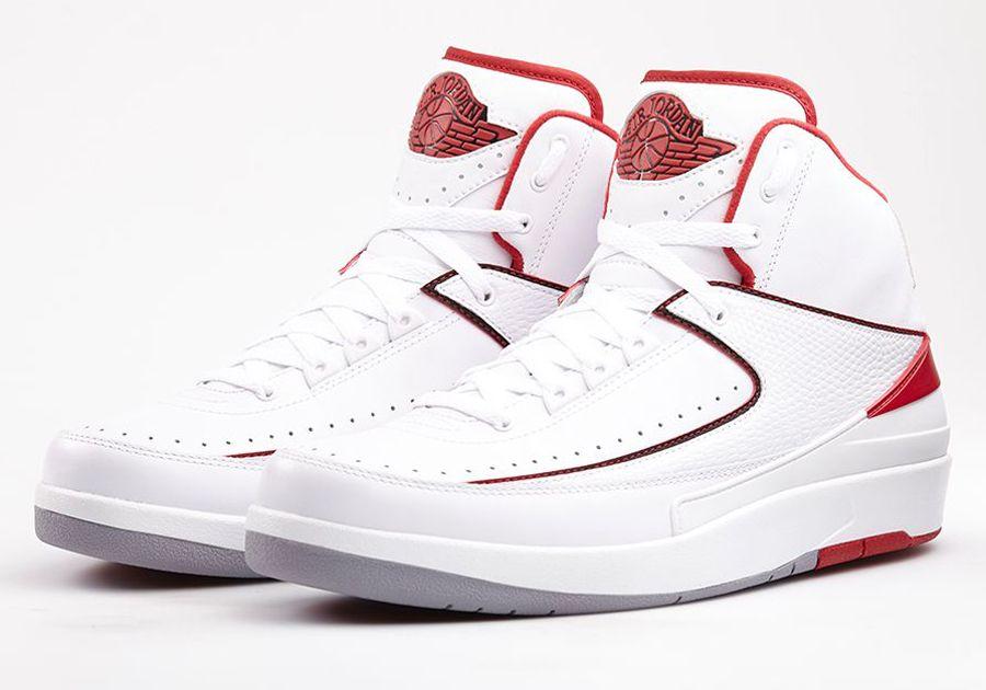 air jordan 2 white varsity red Air Jordan 2 Retro Varsity Red Nikestore  Release Info
