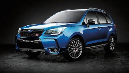 Sti For Sale >> 2016 Subaru Forester Ts Sti On Sale In Australia From