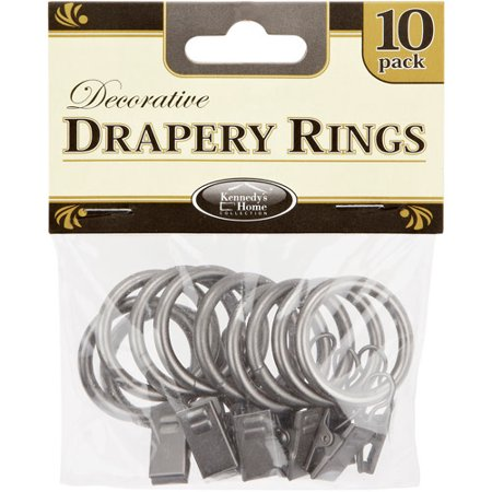 Rings For Rods Curtain Rings 10 Pack Drapery Rods Curtains