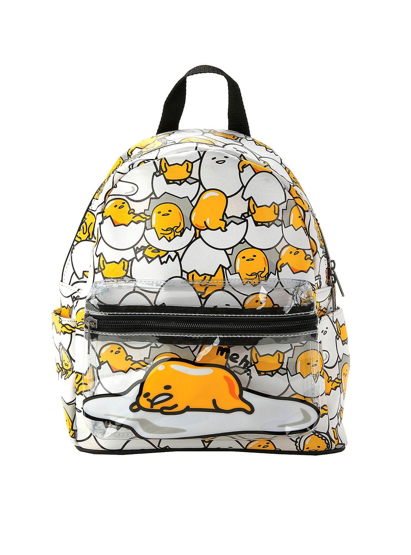 Loungefly Gudetama Mini Backpack Mini Backpack Pretty Backpacks