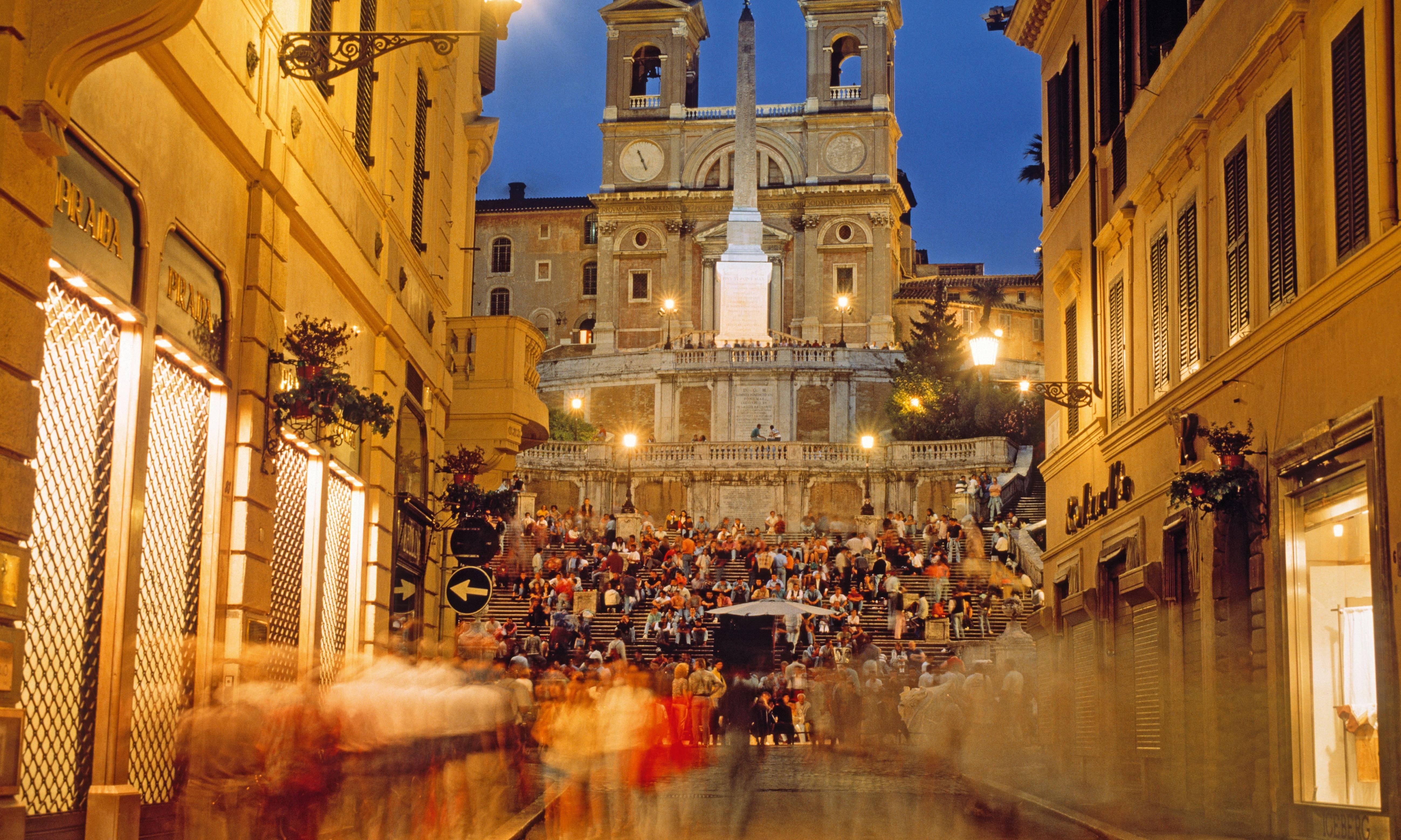 Bulgari's €1.5m restoration of Rome's Spanish Steps hit by delays