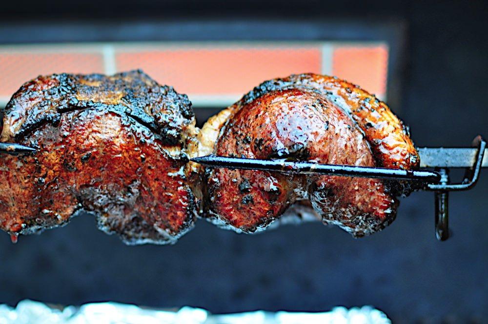Picanha rotisserie top sirloin steaks churrascaria