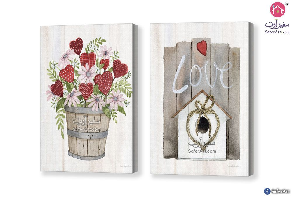 لوحات مودرن رومانسيه سفير ارت للديكور Valentines Art Valentine Art