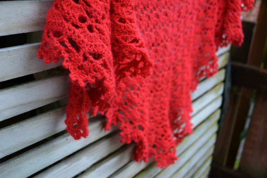 ebf4c521f46a Crochet shawl free pattern 3