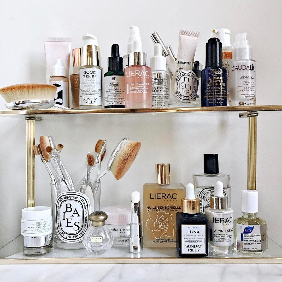 Skincare Shelfie Beauty Organization Ideas Edifiedlifestyle