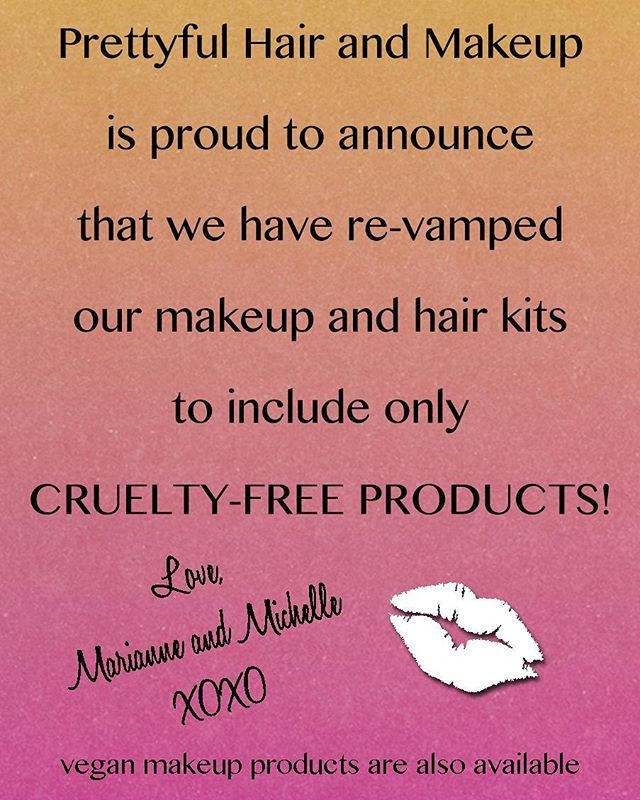 We're going to miss some famous brands like Make Up For Ever and Schwarzcopf, but we decided these products aren't worth keeping in our kit! There are TONS of fabulous professional products out there that are cruelty free and vegan! @tartecosmetics @toofaced @@purminerals @thekatvond @urbandecaycosmetics @nyxcosmetics @smashboxcosmetics @bitebeauty @beautyblender @coverfx @thebalm_cosmetics @hourglasscosmetics @buxomcosmetics @beccacosmetics @occmakeup @ecotools @anastasiabeverlyhills…