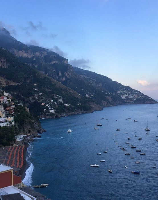 A view along the Amalfi coast | Chef Marc Murphy's Food Tour of the Amalfi Coast