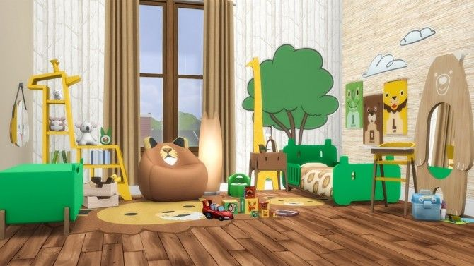 Roarsome Kids Bedroom 30 New items at Simsational Designs