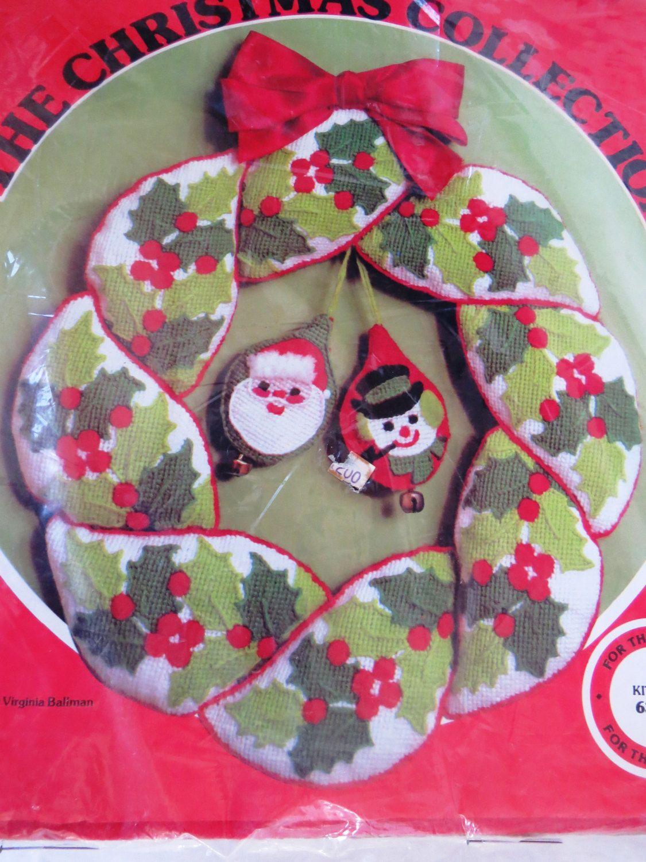 Christmas Wreath Kit by Paragon Holly Wreath Kit 6344