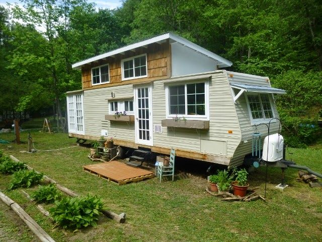 Travel trailer tiny house might be a more affordable way to have that tiny house
