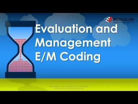 AMCI - Evaluation and Management (E\/M) Coding for the CPC Exam - medical evaluation