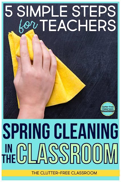 Follow This Simple Checklist From The Clutter Free Classroom When You Are Spring Cleaning Or Packing