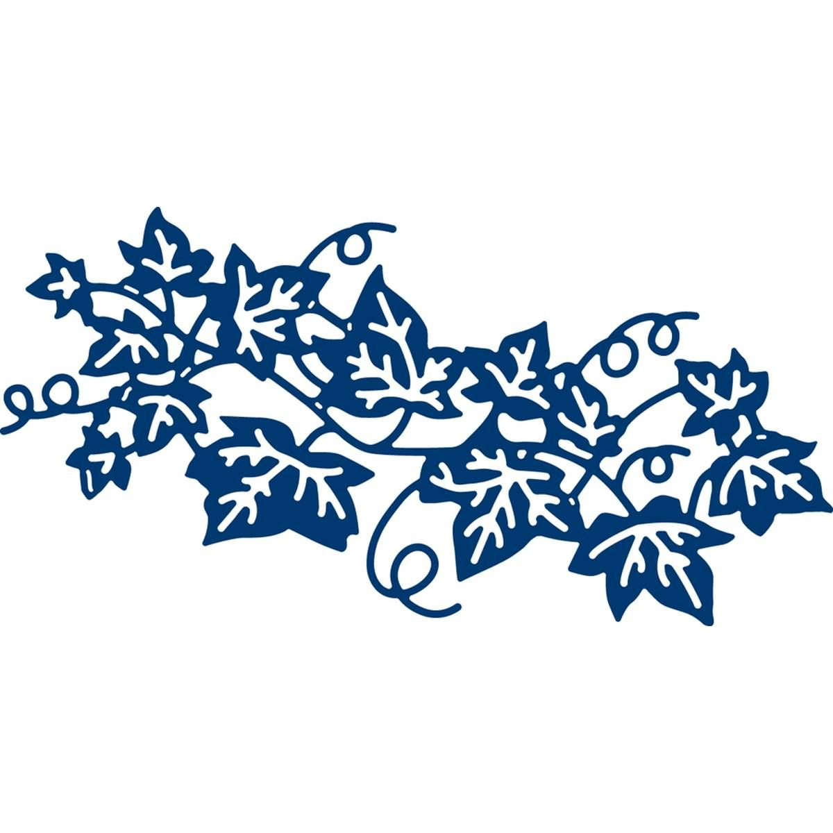 Tattered Lace Delicate Ivy Die 11.1cm x 5.6cm | Downloaded ...