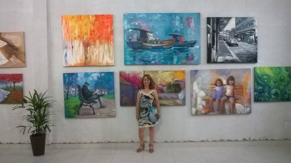 Maria José Marchiori  33°Exposição de artes plasticas do Atelier Marchiori