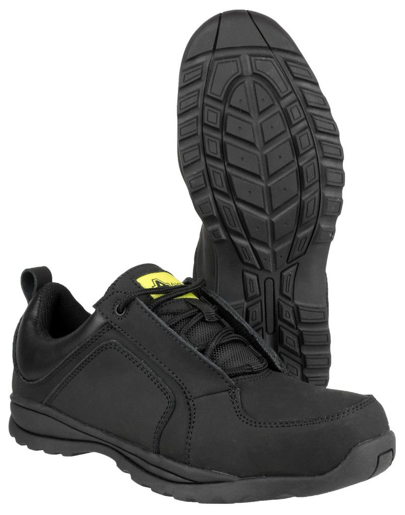 6a632e9a1 AMBLERS SAFETY - FS59C SAFETY TRAINERS - LADIES - BLACK • Amblers Safety  FS59C Ladies Safety
