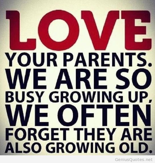 Love Your Parents Daughter Son Mother Father Quotes Pics Pictures