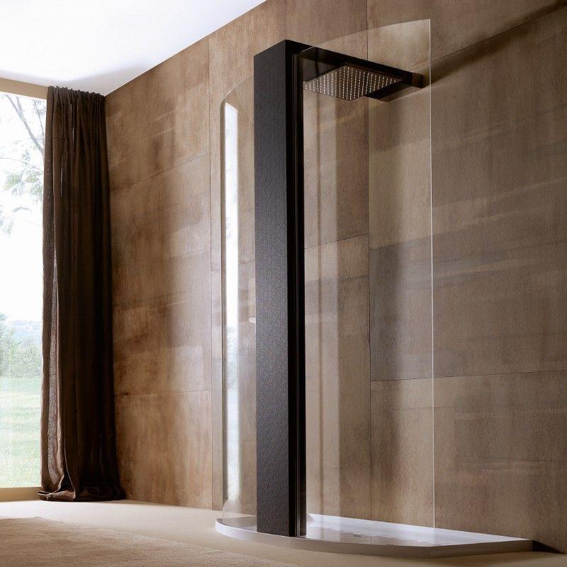 elle 80x125 walk through schwarz duschen mit design. Black Bedroom Furniture Sets. Home Design Ideas
