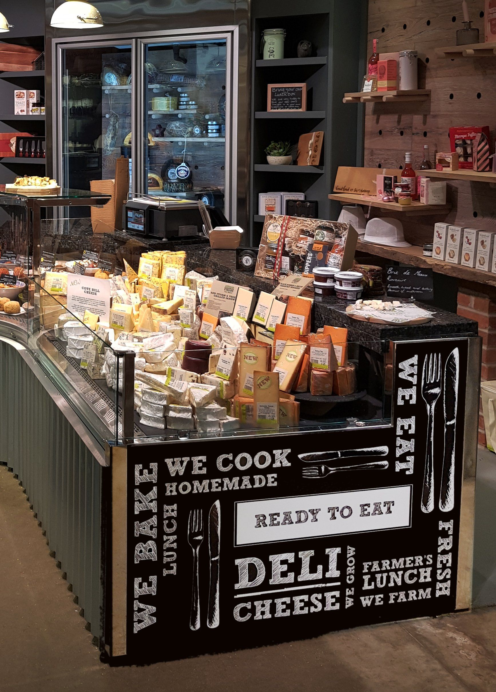 Farndon Fields Deli counter, High quality food, Cooking