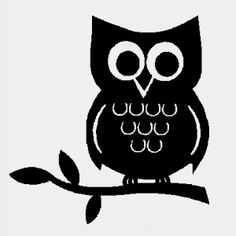 cute cartoon owl silhouette - Google Search