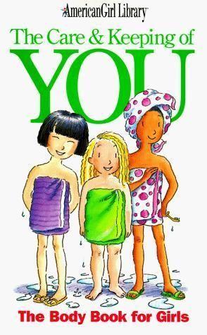 American girl doll puberty book