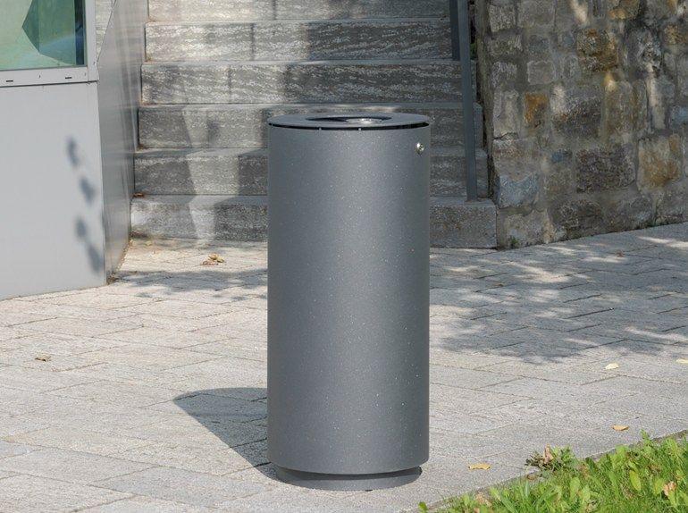 LITTER BIN 220 Waste bin with ashtray by BENKERT BÄNKE ...