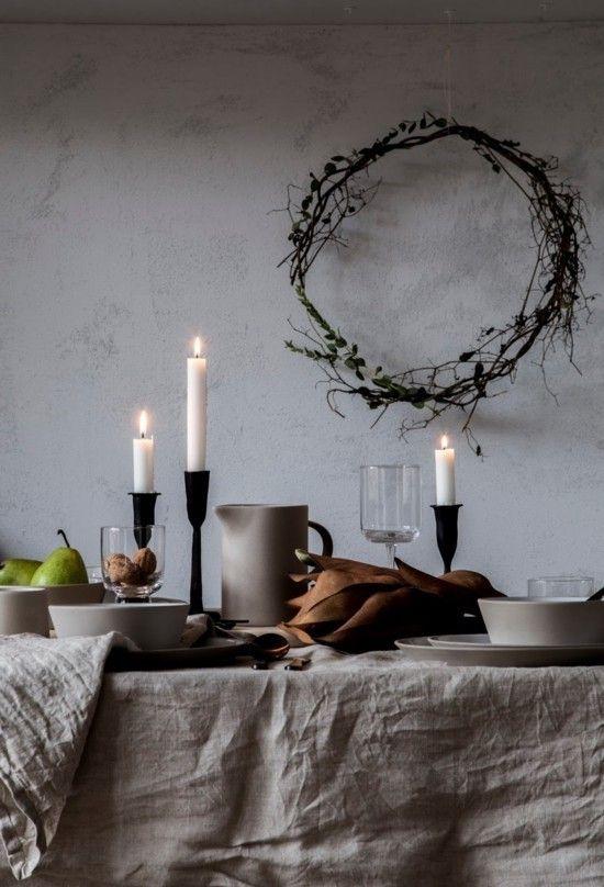 90 skandinavische Weihnachtsdeko Ideen für ein ultimatives Hygge-Feeling zu Hause #ferientisch