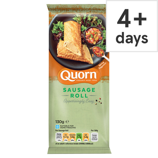 Quorn Sausage Roll 6x130g Tesco Groceries In 2020 Quorn Sausages Quorn Sausage Rolls