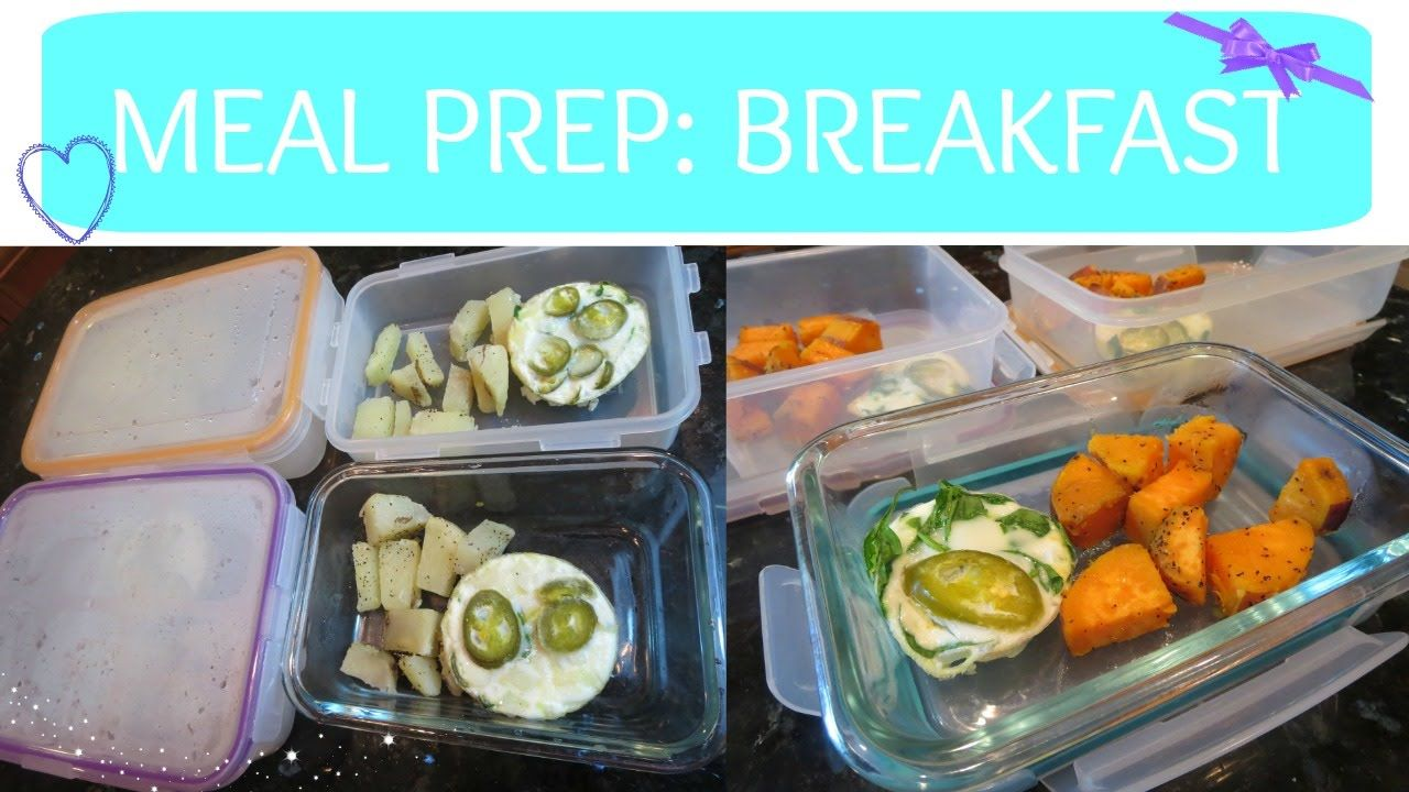 MEAL PREP: Breakfast