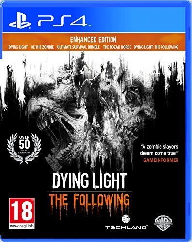 Dying Light: The Following Enhanced Edition (PS4) Warner ... https://www.amazon.co.uk/dp/B01BLECQZA/ref=cm_sw_r_pi_dp_93XyxbWF5KV42