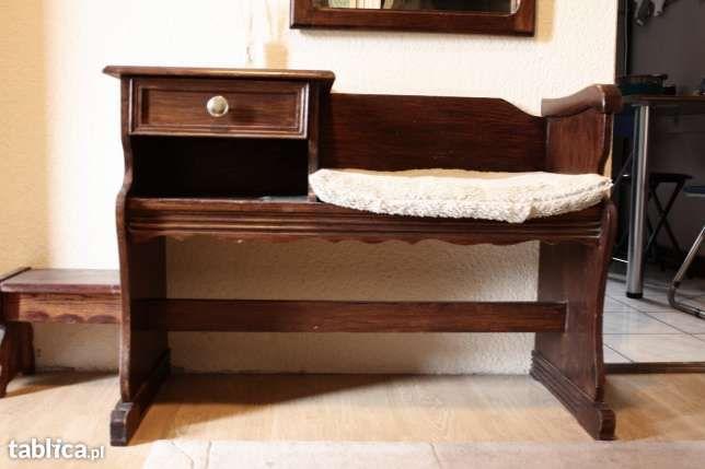 Szafka Z Siedziskiem Do Przedpokoju Furniture Home Decor Changing Table