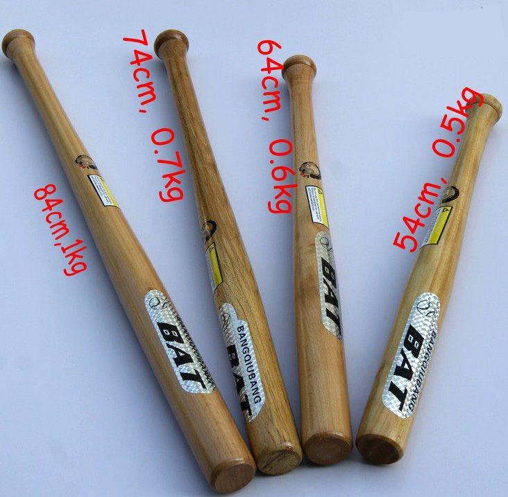 Aiboully 84cm Long High Qualty Beech Wood Baseball Softball Bat Unleashing Outdoor Sports Training Self Defense Free Ship Softball Bat Baseball Softball Sports