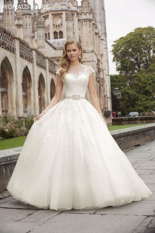 10 vestidos de novia originales de CORTE PRINCESA | vestidos de ...