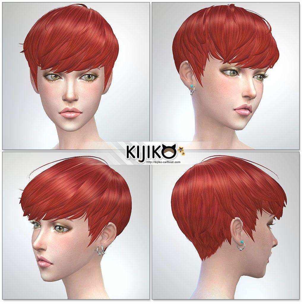 Sims12 hair/ for Female / Feminine Frame シムズ12髪型 詳細  Sims