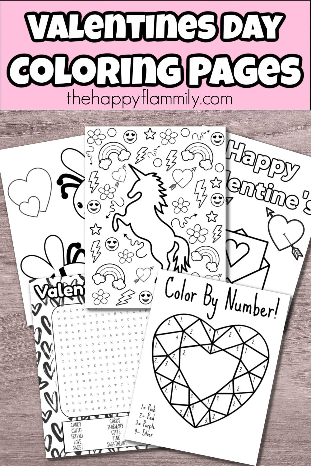 Valentines Day Coloring Pages Pdf In 2021 Valentines Day Coloring Candy Cards Valentines Day