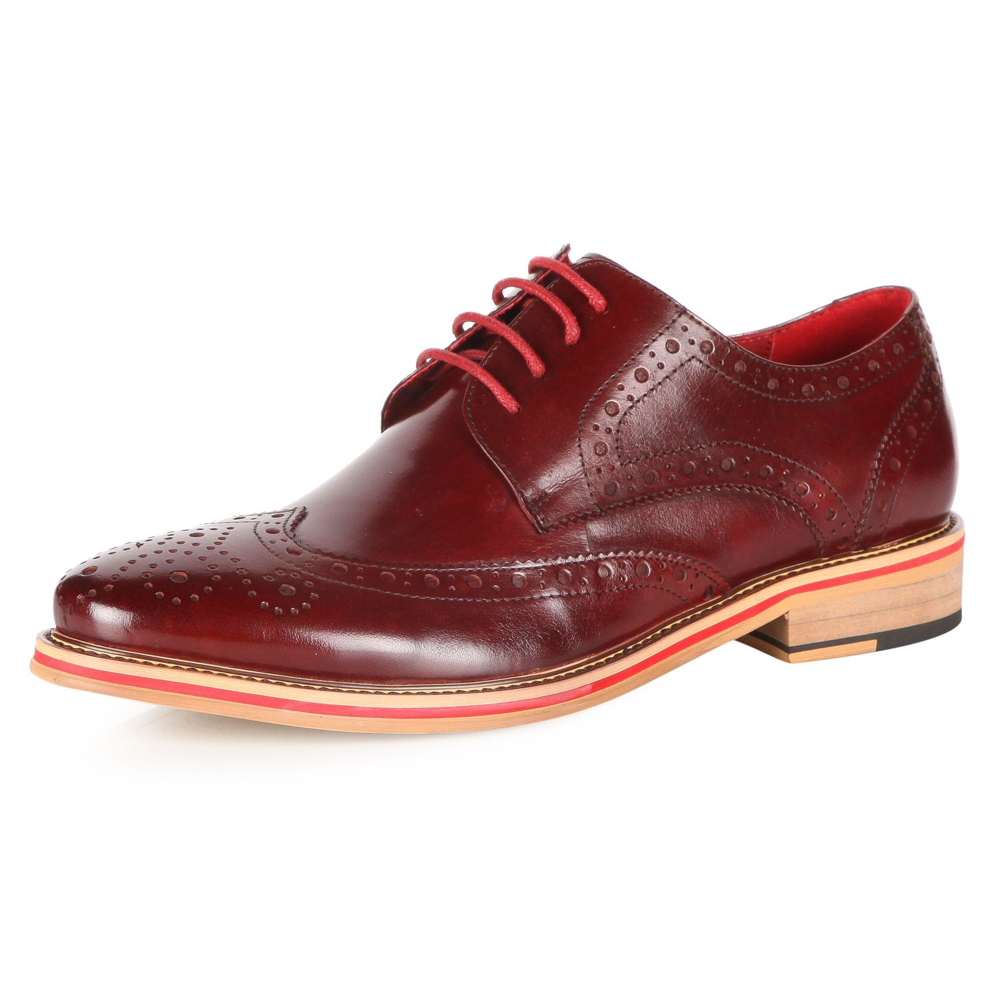 JUSTIN REECE Lace Up Brogues - Shoes - Menswear | Slaters