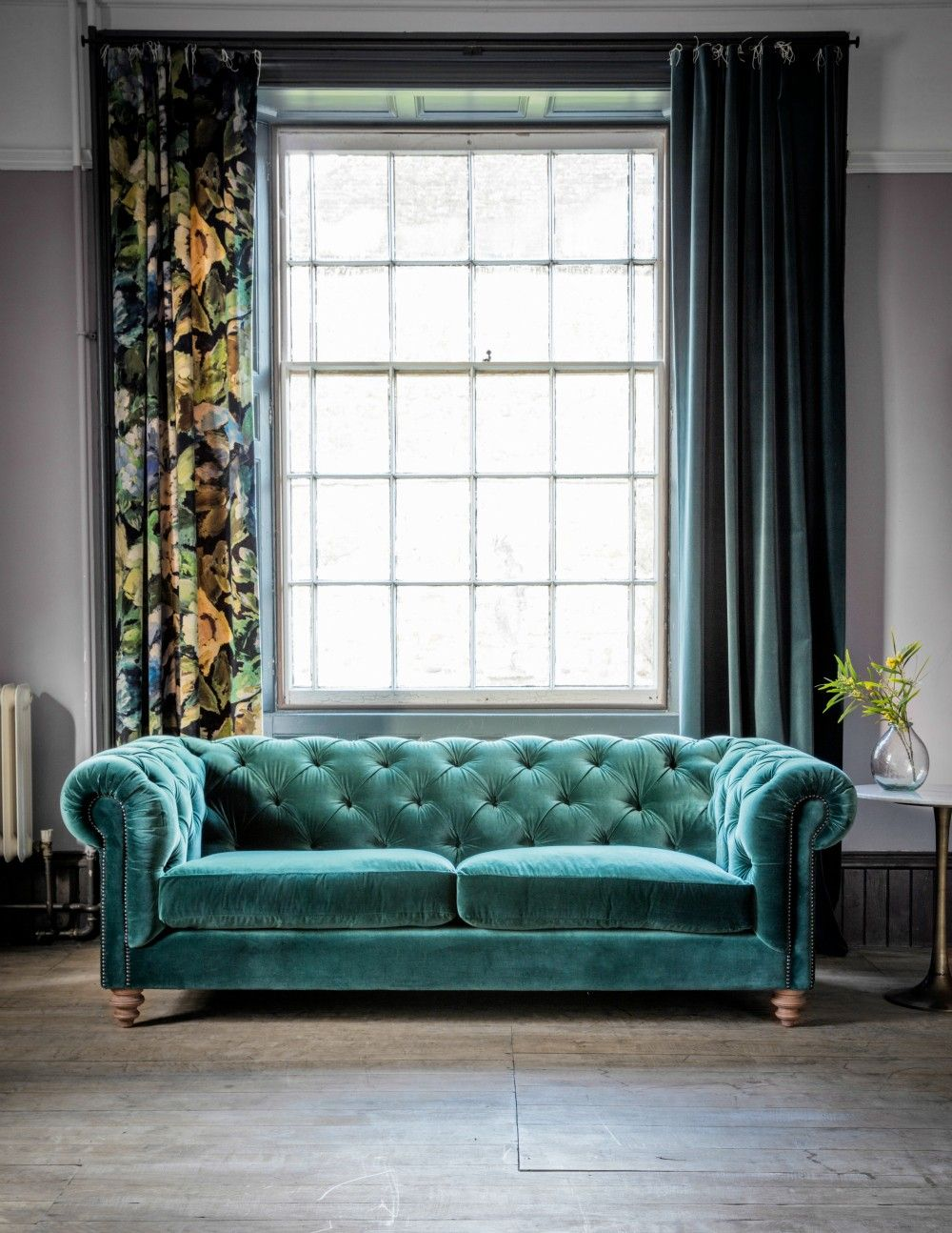Attractive Green Velvet Sofa With Armchairs For Living Room: Velvet Loveseat  Sofa And Green Velvet