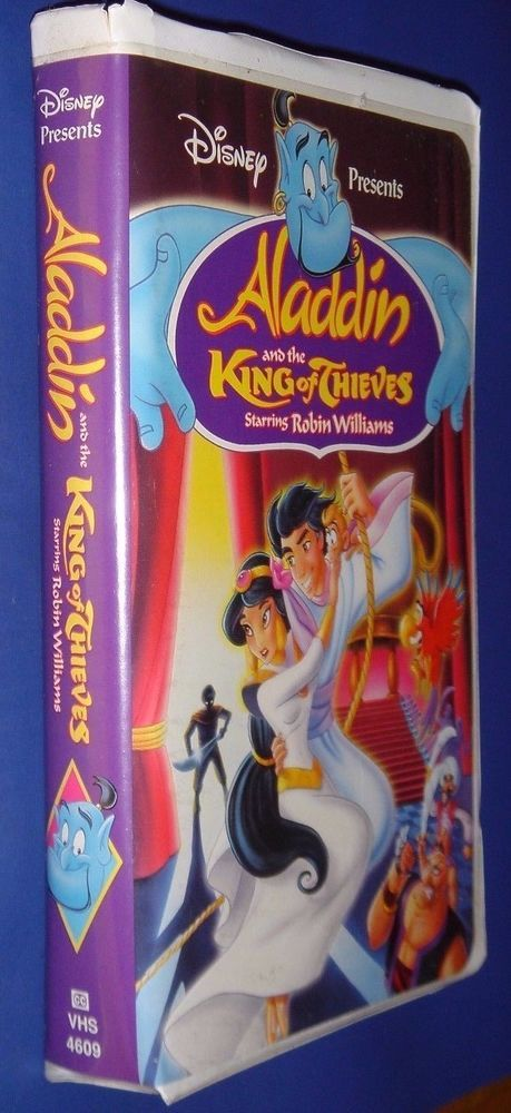 Walt Disney Presents Aladdin And The King Of Thieves Staring Robin