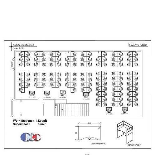 CALL CENTER FLOOR PLAN