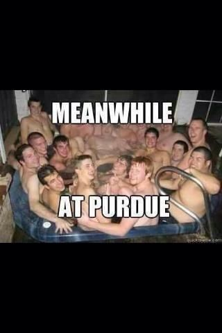 Meanwhile At Purdue The Party Continues Social Media Georgia Tech Funny Memes