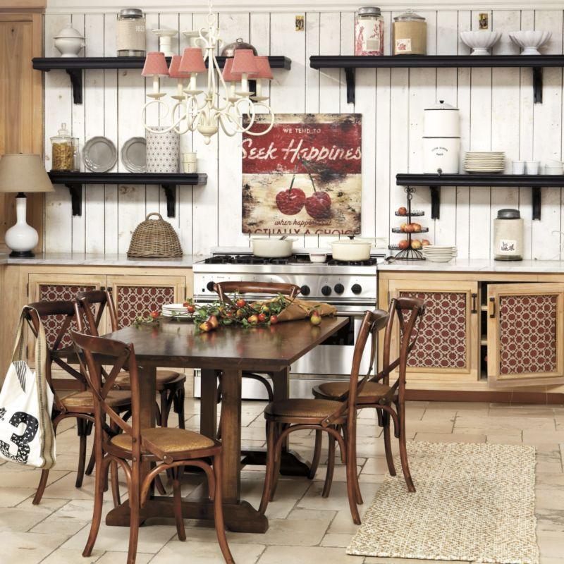 Ballard Designs Cafe Shelving