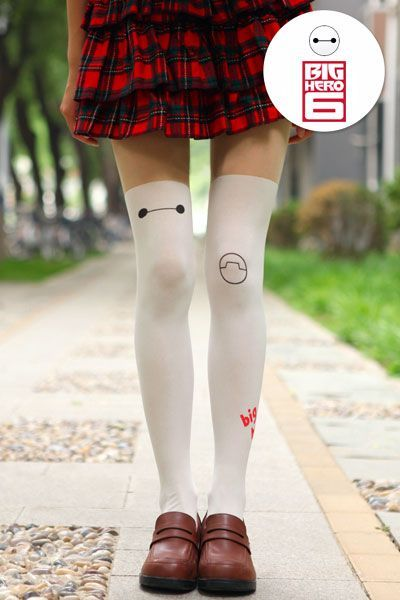 f219577b4 Thigh Highs · Big Hero 6 Baymax Tights One of the hottest Japanese fashion  accessories around right now
