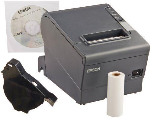 Epson Tm T88v Thermal Receipt Printer Power Plus Usb Office Store Printer Usb Thermal Printer