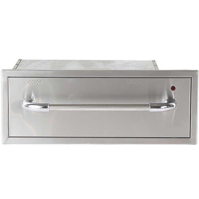 Urban Islands Stainless Steel Warming Drawer Warming Drawer Outdoor Kitchen Design Outdoor Kitchen Appliances
