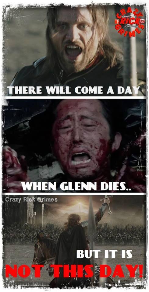 Crazy Rick Grimes With Images Dead Man Walking Walking Dead
